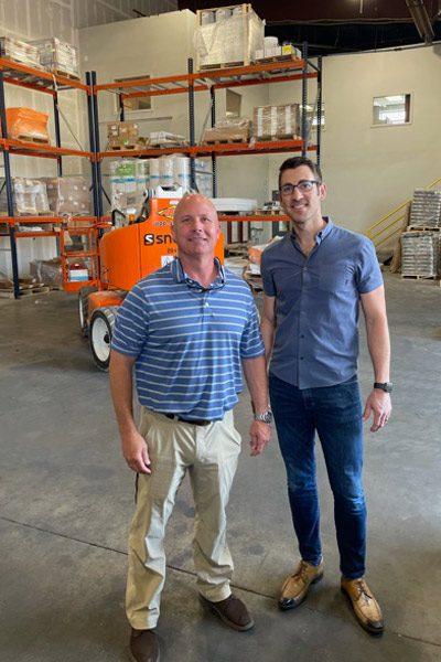 TTC Drew Bonder and Kevin Paulson of Colorado Floor Company