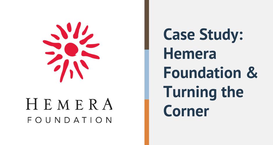 case study hemera foundation and turning the corner
